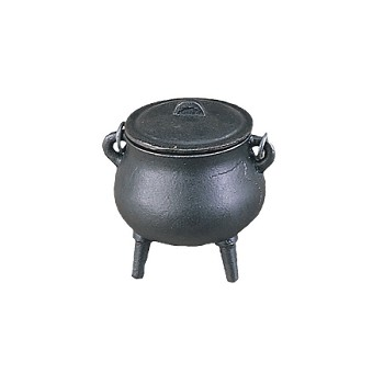 CAST IRON CAULDRON 3.5""