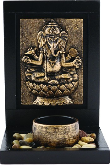 GANESHA TEALIGHT HOLDER