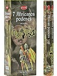 HEM 7 AFRICAN POWERS INCENSE 20 STICKS HEX PACK