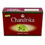 CHANDRIKA SANDALSOAP 75 GMS. (PACK OF 10)