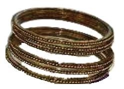 BROWN GLASS BANGLES SIZE (2.8)