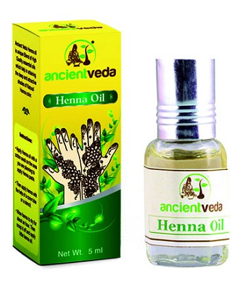ANCIENT VEDA HENNA OIL 5 ML
