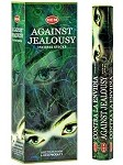 HEM AGAINST JEALOUSY INCENSE 20 STICKS HEX PACK