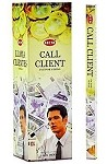 HEM CALL CLIENTS INCENSE 8 STICKS SQUARE PACK