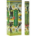 HEM CAMOMILE INCENSE 20 STICKS HEX PACK