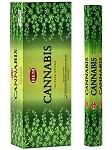 HEM CANNABIS INCENSE 20 STICKS HEX PACK