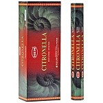 HEM CITRONELLA INCENSE 20 STICKS HEX PACK