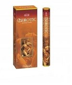 HEM EROTIC INCENSE 20 STICKS HEX PACK