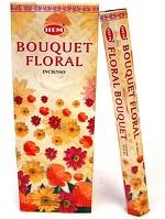 HEM FLORAL BOUQUET INCENSE 20 STICKS HEX PACK