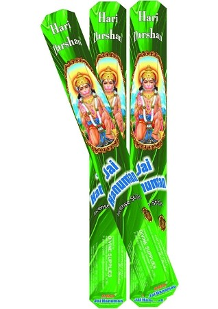 JAI HANUMAN INCENSE 20 STICKS HEX PACK