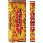 HEM INDIAN FLOWER INCENSE 20 STICKS HEX PACK