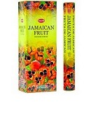 HEM JAMAICAN FRUIT INCENSE 20 STICKS HEX PACK