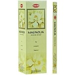 HEM MAGNOLIA INCENSE 8 STICKS SQUARE PACK