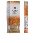 HEM MORNING MIST INCENSE 20 STICKS HEX PACK