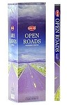 HEM OPEN ROADS INCENSE 8 STICKS SQUARE PACK