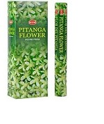 HEM PITANGA FLOWER INCENSE 20 STICKS HEX PACK