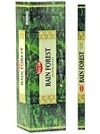 HEM RAIN FOREST INCENSE 8 STICKS SQUARE PACK