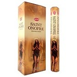 HEM SAINT ONOFRE INCENSE 20 STICKS HEX PACK