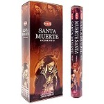 HEM SANTA MUERTE INCENSE 8 STICKS SQUARE PACK