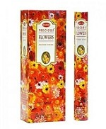 HEM PRECIOUS FLOWERS INCENSE 20 STICKS HEX PACK