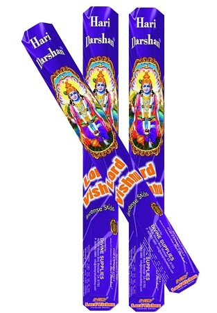 LORD VISHNU INCENSE 20 STICKS HEX PACK